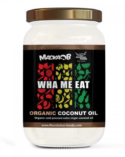 WHA ME EAT PREMIUM ORGANIC COCONUT OIL