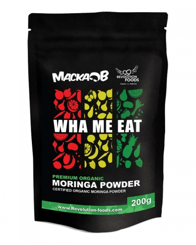 MACKA B WHA ME EAT PREMIUM ORGANIC MORINGA POWDER